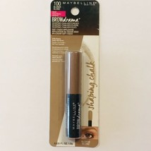 Maybelline New York Brow Drama Shaping Chalk Powder Blonde 100 New in Pa... - $7.89