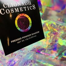 NWT NIB Clionadh Cosmetics JEWELLED MULTICHROME SINGLE PAN *ONE SHADE* Gothic image 5
