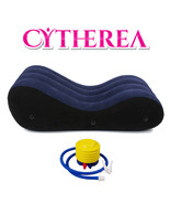Cytherea Inflate Air Sofa Bed Ergonomic Curving Design for Maximum Comfo... - $111.99