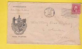 HOTEL TULSA TULSA OKLAHOMA JULY 29 1921 - $1.98