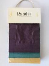 Duralee Jasmine Solid Silks Fabric Sample Book - $22.24