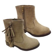 Koala Kids Beige Boots with Fringe  Toddler Girls Size 5  6 7   NWT - £12.10 GBP