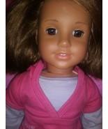 """American Girl  Marisol Luna 18"""" Doll Brown Hair Brown Eyes Jly Truly Me - $76.23"""