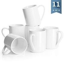Sweese 6212 Porcelain Coffee Mug Set - 11 Ounce for Coffee, Tea, Cocoa a... - $30.90