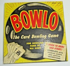 RARE 1957 Bowlo No 10 The Card Bowling Game for Bowling Fans - NOS SEALE... - $16.04