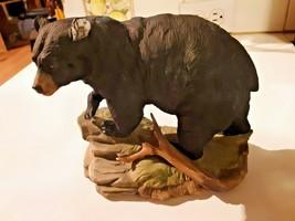 Vintage Russian Black Bear Porcelain Figurine 5620 By Andrea Sadek Nice ... - £34.14 GBP
