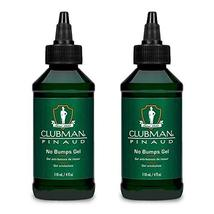Clubman Pinaud Shave Gel No Bumps After Shave for Men Sensitive Skin 4 oz 2 pack image 2