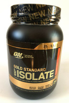 Optimum Nutrition ON GOLD STANDARD 100% ISOLATE (Strawberry Cream) 1.58l... - $34.99