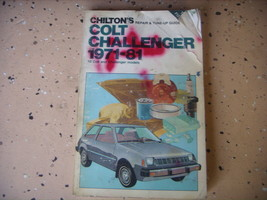 Colt & Challenger 1971-1981 Repair Manual, Service. Chilton's Book - $6.78