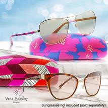 Vera Bradley Clamshell Sunglasses Eyeglass Case, Holland Garden image 2
