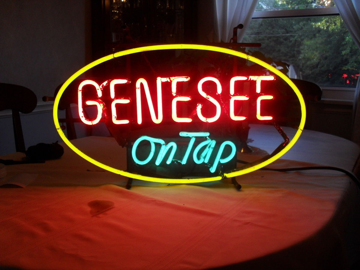 "New Genesee On Tap Beer Rochester Beer Neon Sign 17""x14"" Ship From USA"