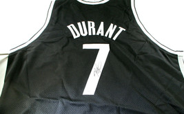 KEVIN DURANT / BROOKLYN NETS / AUTOGRAPHED NETS CUSTOM BASKETBALL JERSEY / COA image 1
