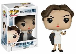 Sherlock Irene Adler Pop! Television Funko Vinyl Figure New in Box NIP 288 - $14.84