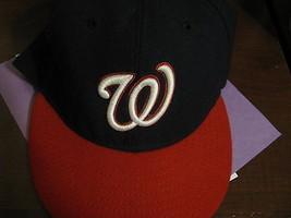 VTG Baseball Cap Washington Nationals MLB New Era 7 1/2 59.6 cm - $29.65