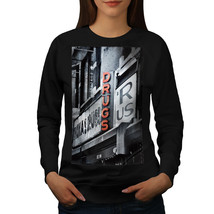 Drugs R Us Store USA Jumper Pharmacy Women Sweatshirt - $18.99