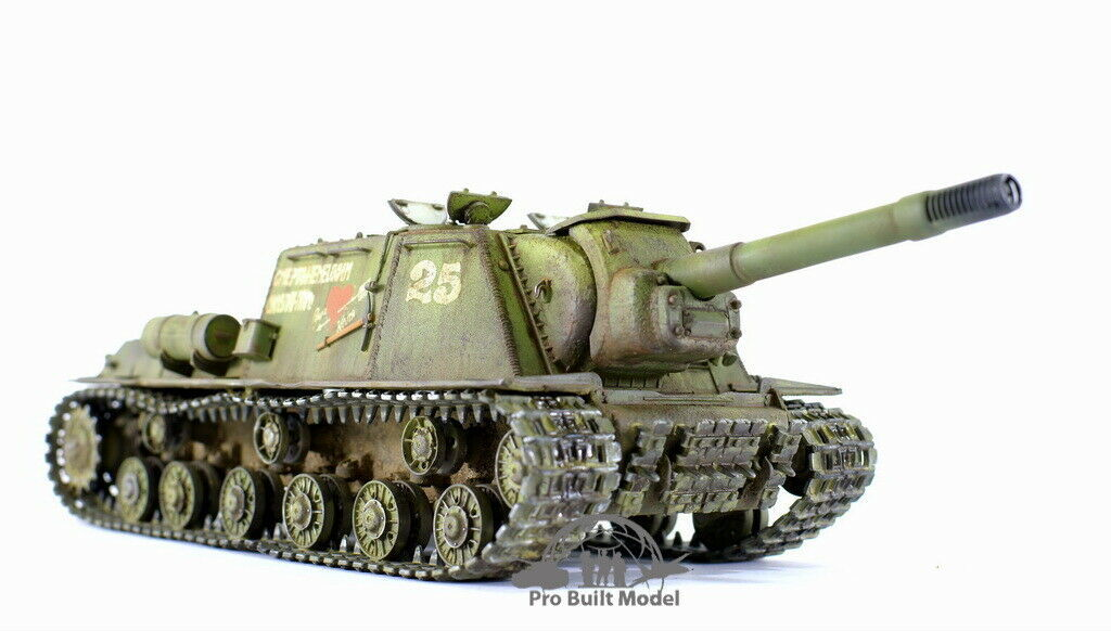 Primary image for Soviet Heavy Self-Propelled Artillery JSU-152 WWII 1:35 Pro Built Model