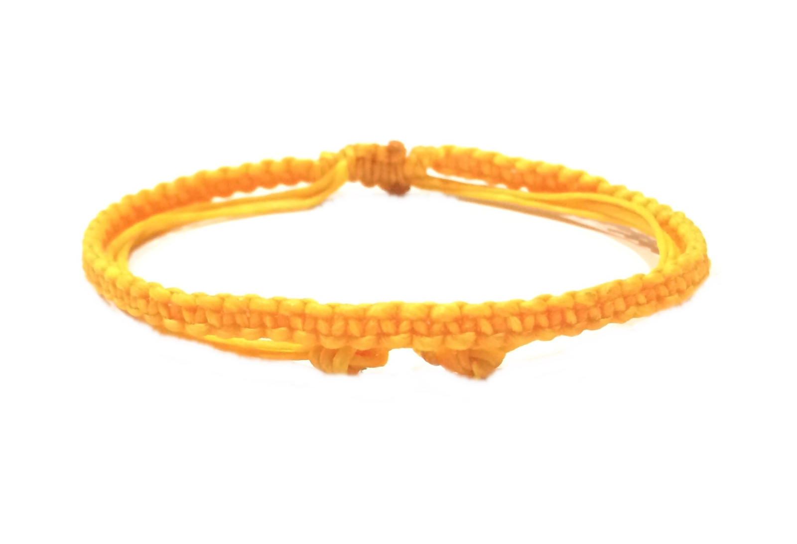 Fair Trade Thin Wax COTTON Cord Handcrafted Thai Buddhist WRISTBAND Bracelet