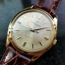 Mens Vacheron Constantin Geneve 36mm 18k Gold Dress Watch, c.1950s Swiss LV900 - $7,821.00