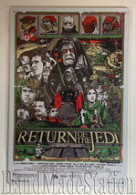 Star Wars Return of the Jedi Wall Metal Sign plate Home decor 11.75