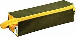 Kokuyo Pen Case C2 Khaki x Yellow F-VBF122-3 - $28.78