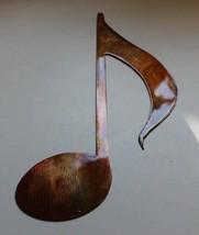 "Musical Note Copper/Bronze Musical Note Music Metal Wall Art Decor  14"" tall - $16.33"