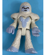 Imaginext Mystery Bag Series 9 Yeti Snowboarder Figure With Head Mask No... - $7.77