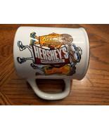 "Vintage 1993 REESE'S  HERSHEY'S  MR. GOODBAR Character Cartoon Mug, 4.5""... - $14.85"