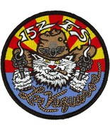 USAF 152nd Fighter Squadron Patch Sticker LAS VAQUEROS - $9.89