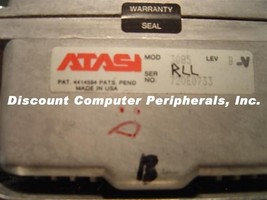 Rare Vintage ATASI 3085 69MB 5.25IN FH MFM Drive Tested AS IS - $39.95