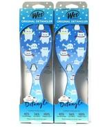 2 Wet Brush Original Detangler IntelliFlex Bristles Ogl Arctic Chilly Be... - $23.99