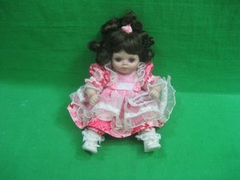 Marie Osmond Doll Tiny Tot ~ Paper Roses ~ Signed ~ 2002 - $29.88