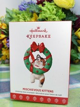 Hallmark Mischievous Kittens ornament 2017 Christmas ornament - $16.78