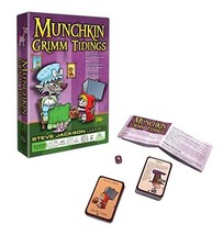 Munchkin Grimm Tidings Card Game 3-4 Players 10yrs+ New in Box - $11.88