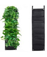 Set of 2 Vertical Garden Planter| Wall Hanging Planter Indoors|Hanging P... - £20.91 GBP