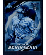 2017 Topps Fire Blue Chip #65 Andrew Benintendi NM-MT RC Rookie Red So I... - $6.92