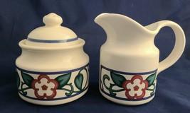 Pfaltzgraff Arbor Vine Sugar Bowl and Creamer Set - $32.95