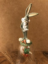 Warner Brothers Looney Tunes BUGS BUNNY Resin & Glass Bell - $4.94