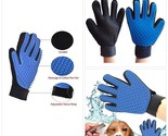 Deshedding Hand Glove for Pet Hair Removal and Grooming. Ideal for Dogs or Cats.