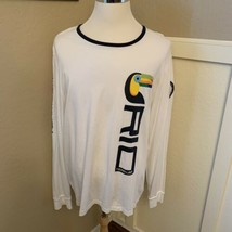 Polo Ralph Lauren 2016 Rio Olympics Team USA T Shirt White XXL Toucan US... - $49.99