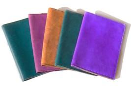 Leather passport cover, Travel wallet passport holder, Handmade Passport... - $38.00
