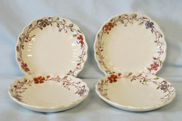 Spode Wicker Dale 4088 Butter Pat or Coaster set of 4 - $26.52