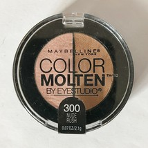 Maybelline New York Color Molten Eye Studio Shadow .07 Oz Nude Rush 300 - $4.84