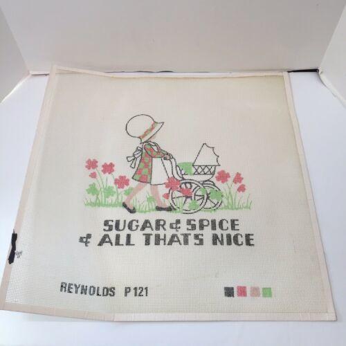 "Sugar & Spice Needlepoint Canvas Reynolds 12 Count 18"" x 18"" - $38.69"