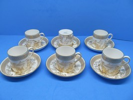 Spodes Garden By Spode Demitasse Cup & Saucers bundle of 6 - $89.18