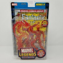 MARVEL LEGENDS Human Torch Fantastic 4 SERIES II TOY BIZ Action Figure N... - $22.22