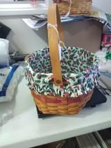 Longaberger 1997 Christmas Collection Snowflake Basket - Liner/Protector - $27.55