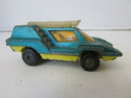 MATCHBOX DIECAST #68 COSMOBILE SUPERFAST LESNEY ENGLAND 1975 TURQUOISE H2 - $7.83