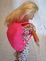 Vintage BARBIE Backpack Sleeping Bag Camping COMBO 1990's Pink - $11.75