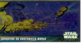 Star Wars Episode I Series 2 Widevision Chrome Card Subset HC2 - $7.83