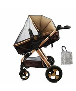 Baby Stroller Netting Mosquito with Organizer for Cribs, Toddler Mosquit... - $8.08